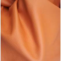 Piele naturala tapiterie portocaliu