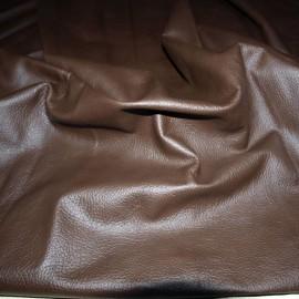 Piele naturala maro ciocolat