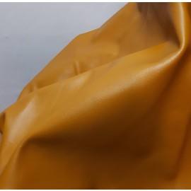 Piele naturala tapiterie culoare ocru Lichidare stoc